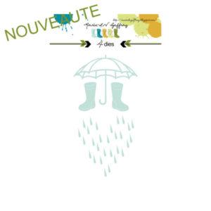 Set de dies « Il pleut, il mouille » Marie-LN Geffray