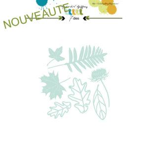 Set de dies « Nature » Marie-LN Geffray