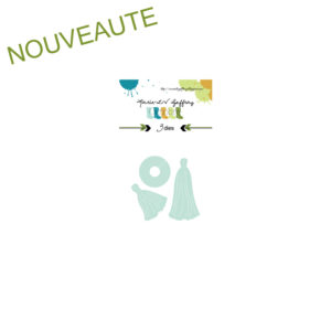 Set de dies « Pompons » Marie-LN Geffray