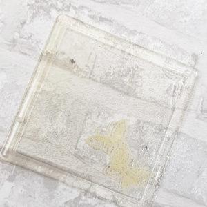 Couverture pour MiniAlbum en epoxy «Petits Papillons» By Quiscrap