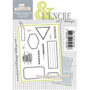 Tampon clear – Les Etiquettes Cousues – L'Encre et l'Image