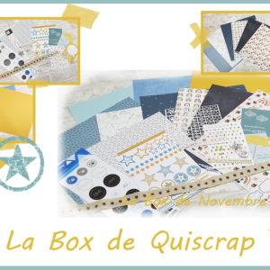 La Box de Novembre 2020