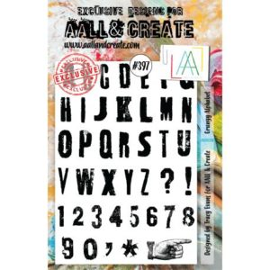 Tampon clear AALL and Create Stamp Set -397