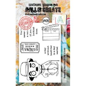Tampon clear AALL and Create Stamp Set -428