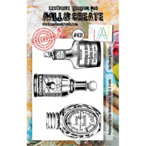Tampon clear AALL and Create Stamp Set -431