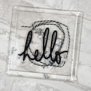 Couverture pour MInialbum en Epoxy «Hello» By Quiscrap