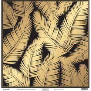 Papier Reflet d'OR Flavescent Doré