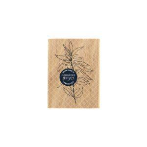 Tampon bois feuillage souple Florilèges Design