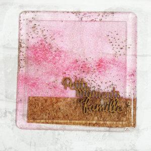 Couverture pour Minialbum en Epoxy «Petits Moments en Famille» By Quiscrap