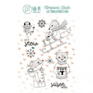 Tampons clear Hapi à la neige – HA PI Little Fox