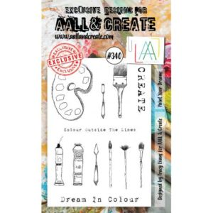 Tampon clear AALL #340 Paint Year Dreams