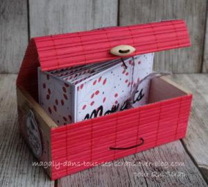 Tuto n°2 pour la Box de Janvier 2021 par Magaly Scrap: le minialbum
