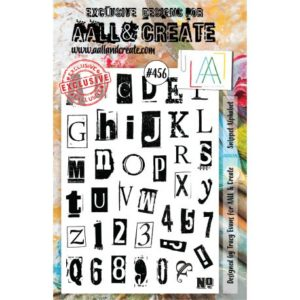 Tampon clear AALL and Create Stamp Set -456 Snippet Alphabet