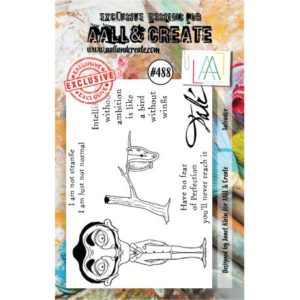Tampon clear AALL and Create Stamp Set -488 Salvador
