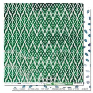 Papier 2 Collection Green&Graphik Les Ateliers de Karine