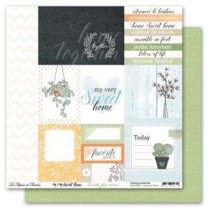 Papier 6  Collection My Very Sweet Home Les Papiers de Pandore