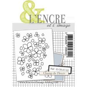 Tampon clear – Champ de Fleurs – L'Encre et l'Image