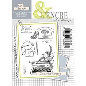 Tampon clear – Courrier Urgent – L'Encre et l'Image