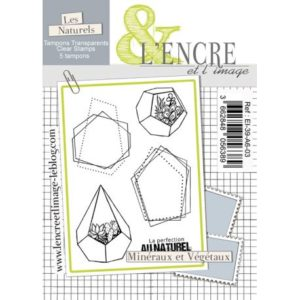 Tampon clear – Minéraux et Végétaux – L'Encre et l'Image
