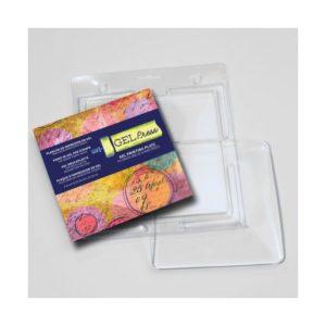 Gel Press • Plaque d'impression en gel 15,24×15,24cm