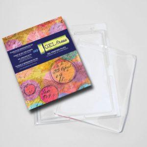Gel Press • Plaque d'impression en gel 20,32×25,4cm