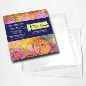 Gel Press • Plaque d'impression en gel 30,5×30,5cm