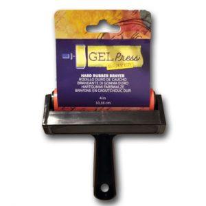 Gel Press • Rouleau en caoutchouc dur 10,16cm