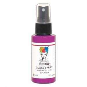 Ranger • Dina Wakley media gloss spray Fuchsia