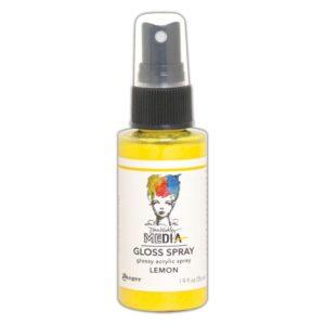 Ranger • Dina Wakley media gloss spray Lemon