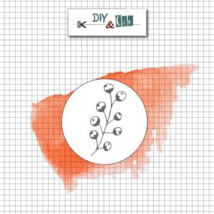 Sceau en laiton : Fleur de coton – DIY and Cie