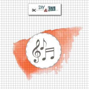 Sceau en laiton : Notes de musique – DIY and Cie