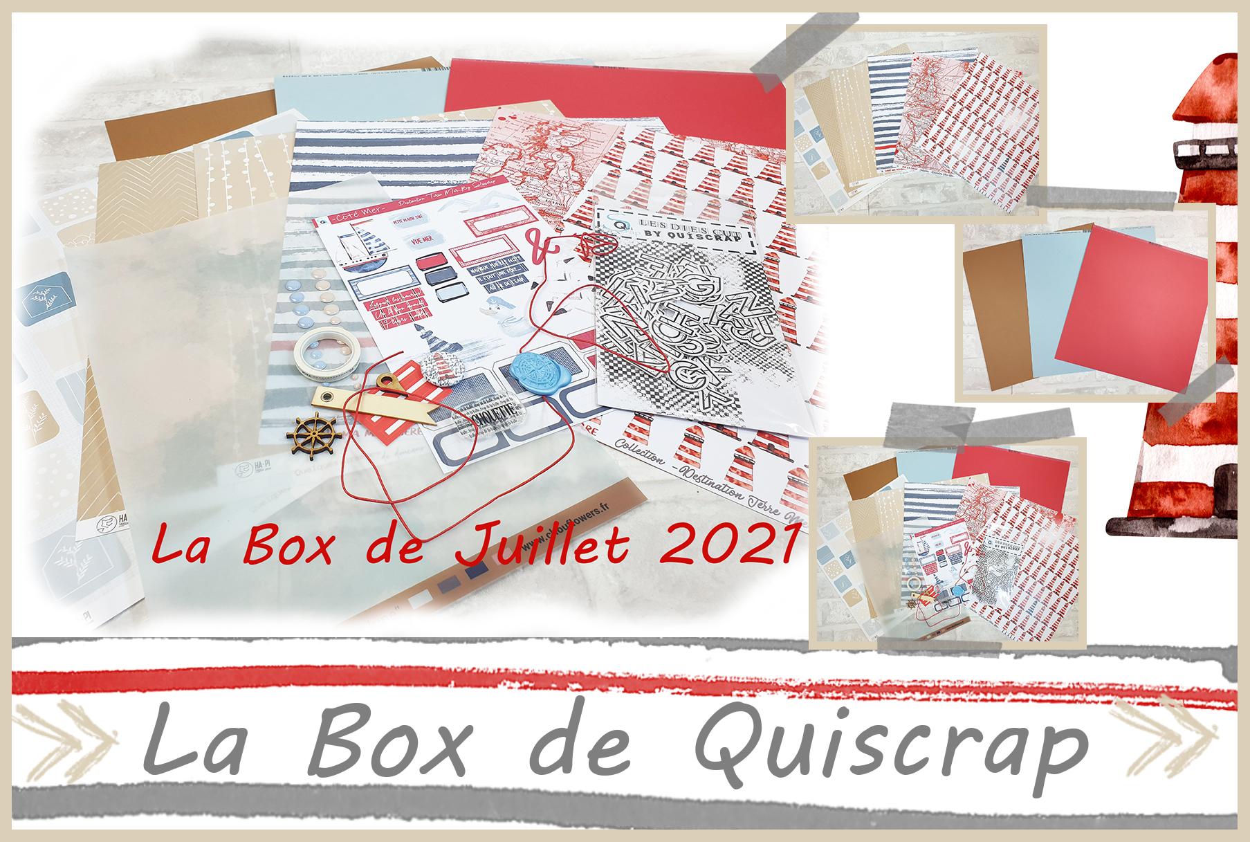 La Box de Juillet 2021