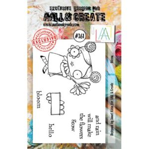 Tampon clear AALL and Create Stamp Set -361 Bloom