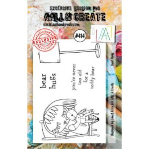 Tampon clear AALL and Create Stamp Set -414 Bear Hugs