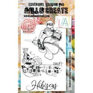 Tampon clear AALL and Create Stamp Set -458 Hibiscus