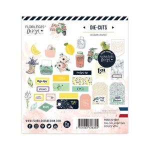 Dies-cut imprimés Dolce Vita Florilèges Design