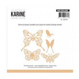 Dies Bienvenue chez moi Mini papillons-Les Ateliers de Karine