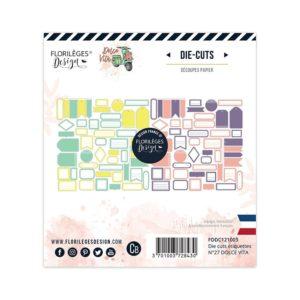 Etiquettes n°27 Dolce Vita Florilèges Design
