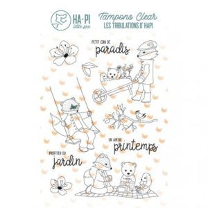 Tampons clear Hapi au jardin – HA PI Little Fox