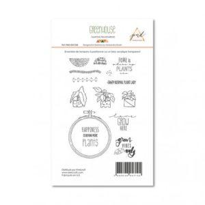 Tampons Transparent – PaperNova Design Hapiness
