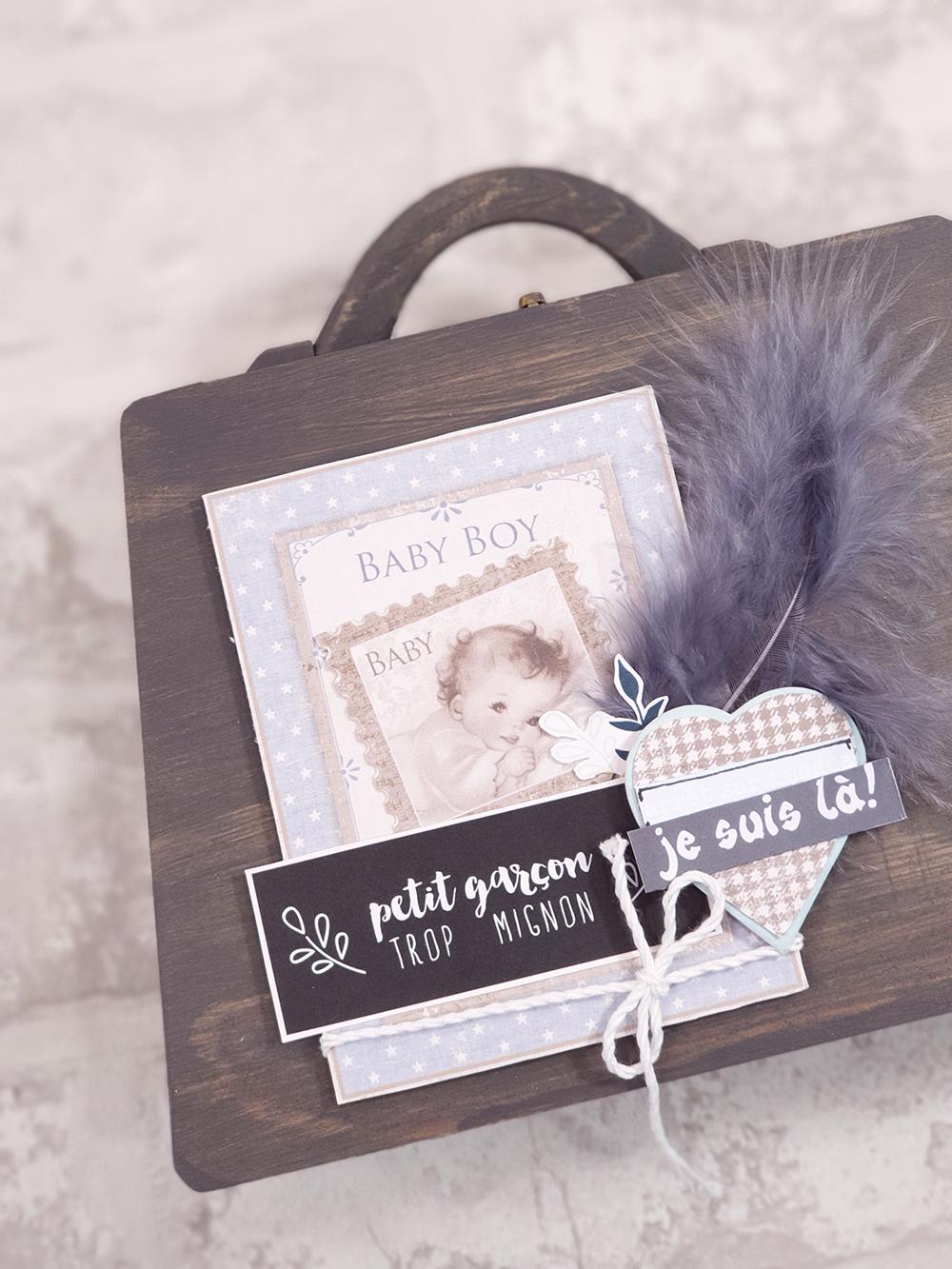 Un tout nouveau kit Minialbum sur Quiscrap: Quand j'étais bébé