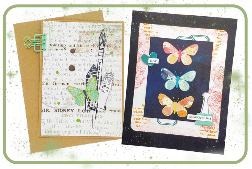 2 cartes à offrir par Lalou Babou avec la Box d'Avril 2021