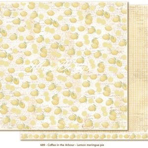 Papier Lemon Meringue Pie Collection Coffe in the Arbour Maja Design