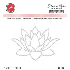 Die Fleur de lotus – Mes P'tits Ciseaux