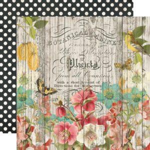 Papier Natural Beauty – Collection Simple Vintage Cottage Fields – Simple Stories