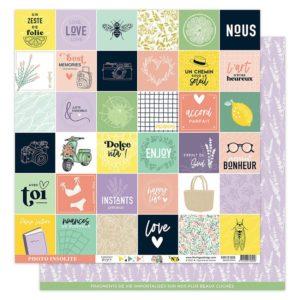 Papier 5 Collection Dolce Vita Florilèges Design
