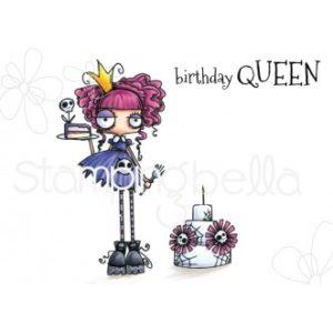 Tampon Oddball birthday queen Stampin Bella