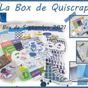 La Box de Septembre 2021