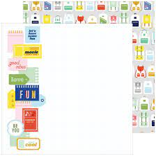 Papier Fun Times Collection Super Cool Pink Fresh Studio