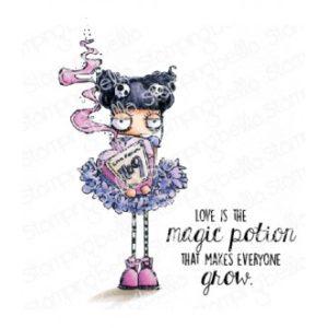 Tampon Love potion Oddball Stamping Bella